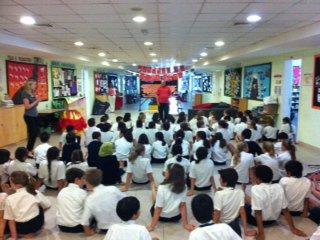 Yoga Class At Wellington International School Dubai 2011